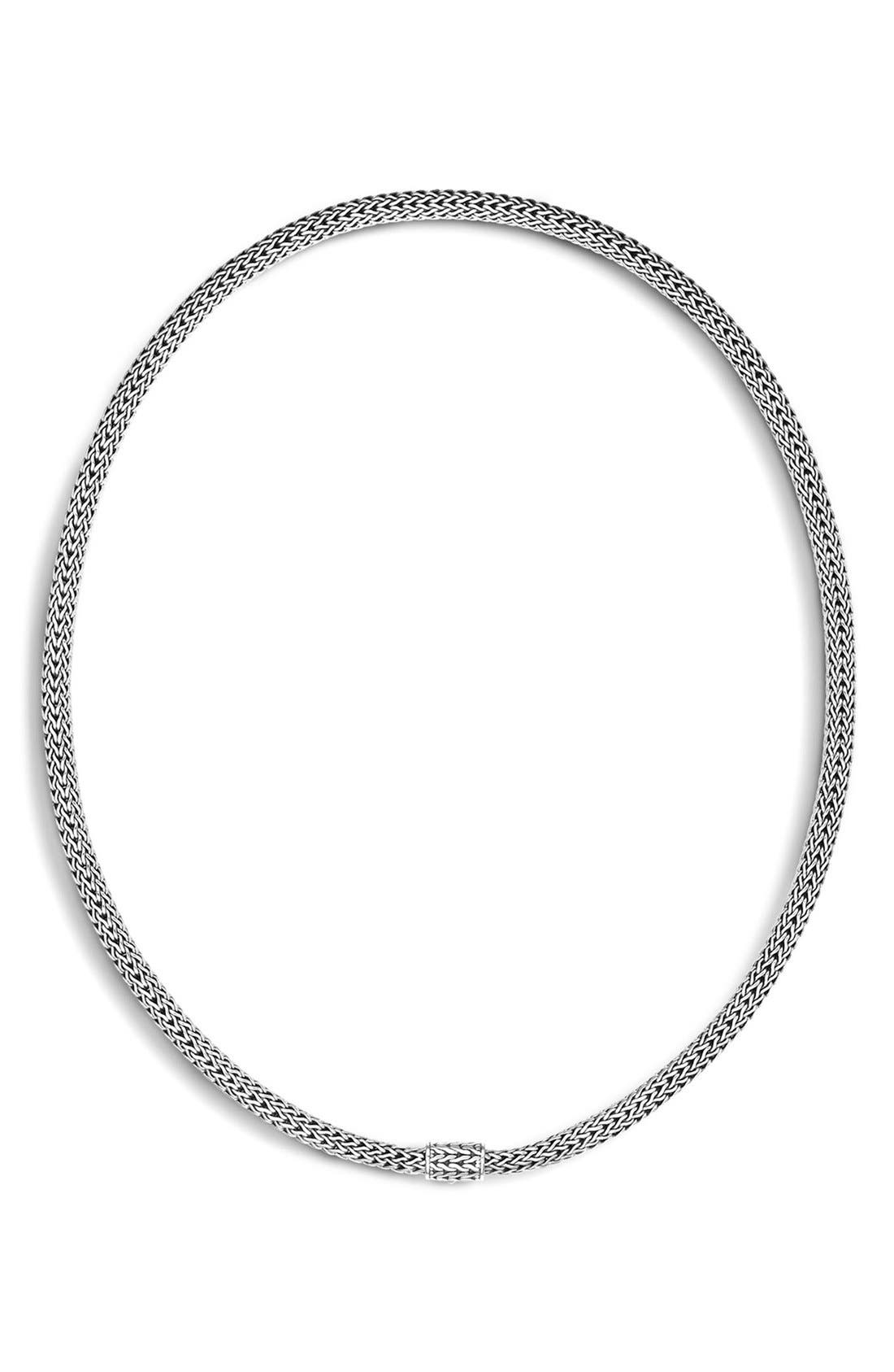 Oval Chain,                         Main,                         color, Silver