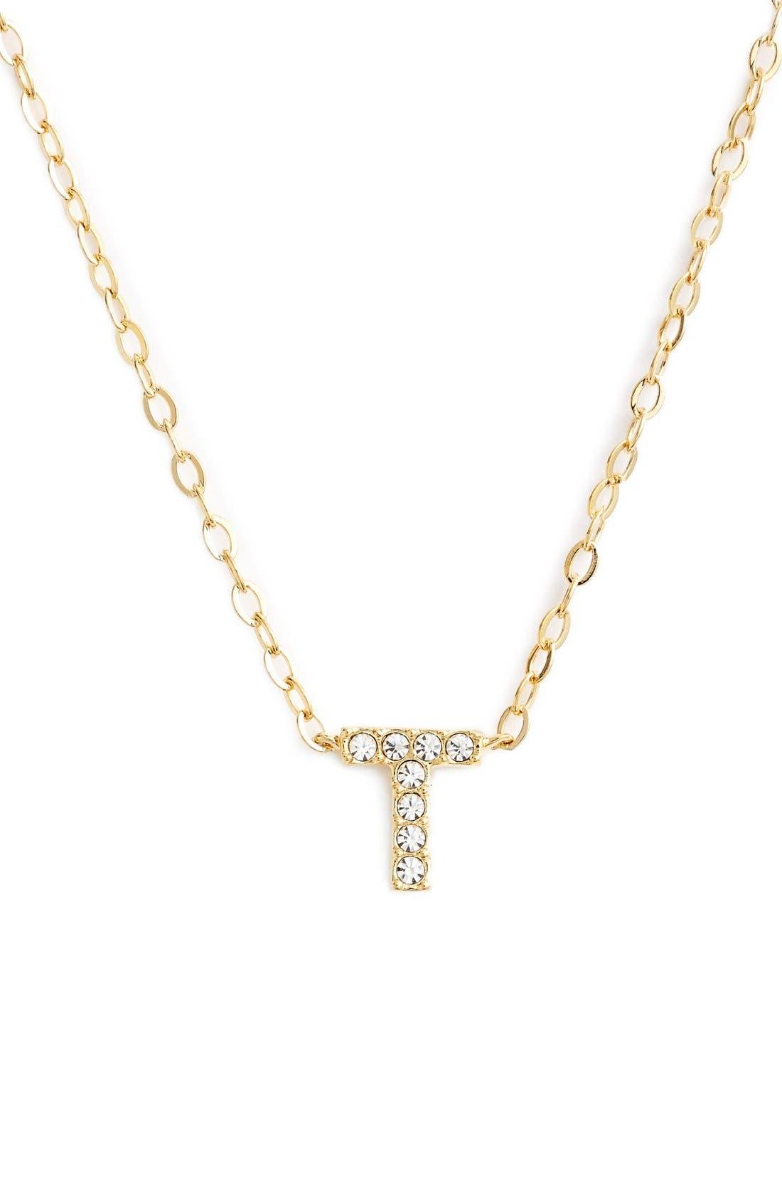 Main Image - Nadri Initial Pendant Necklace