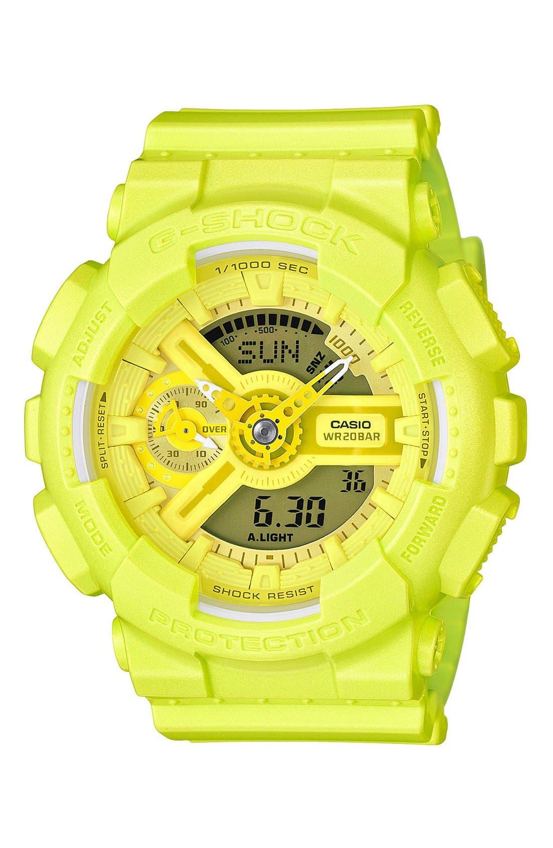 Alternate Image 1 Selected - G-Shock S-Series Ana-Digi Resin Watch, 49mm