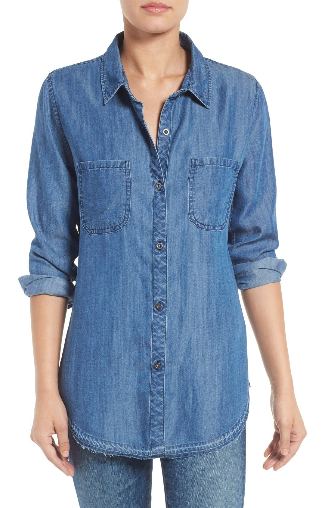 Sale alerts for  'Carter' Chambray Shirt - Covvet