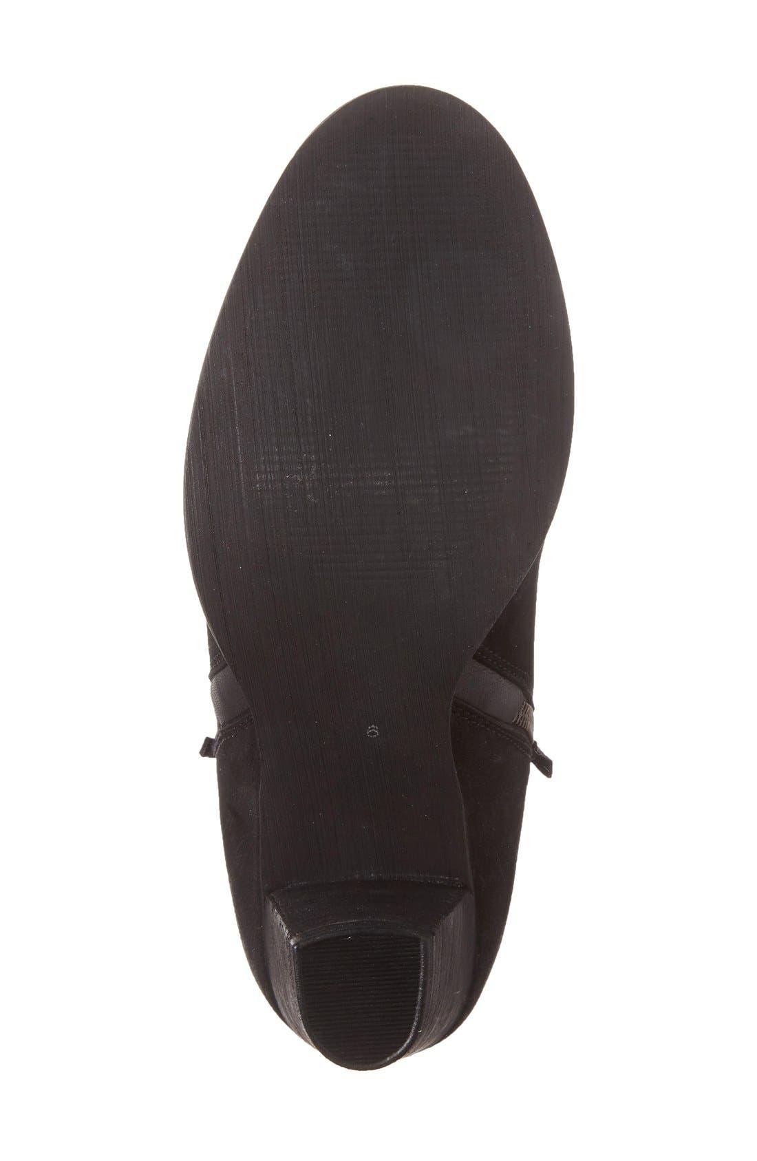 Alternate Image 4  - MIA Maddock Block Heel Bootie (Women)