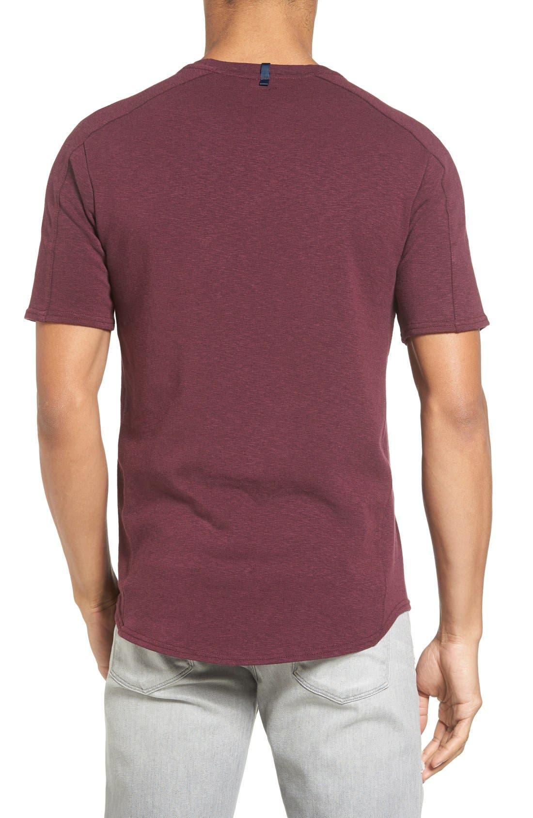 Alternate Image 2  - W.R.K Douglas Cotton Blend T-Shirt