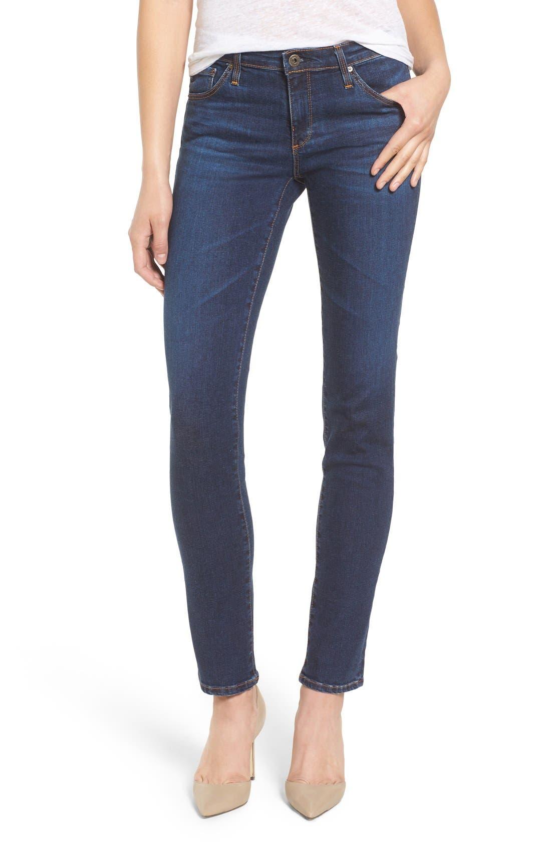 Main Image - AG 'The Stilt' Cigarette Leg Jeans (Elysium)