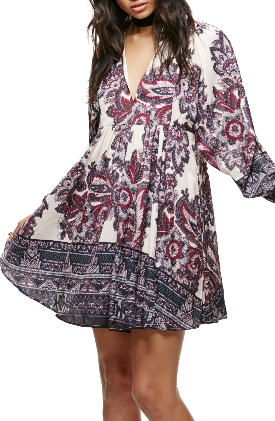 Alternate Image 1 Selected - Free People Say You Love Me Minidress