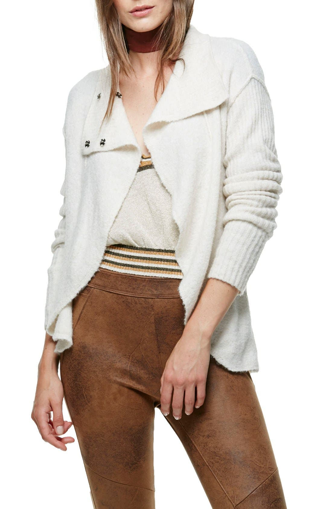 Alternate Image 1 Selected - Free People Cascade Cardigan
