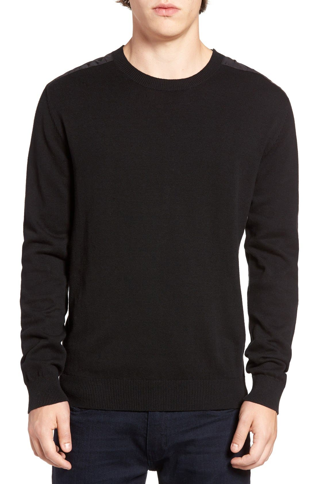 French Connection Nylon Trim Pullover