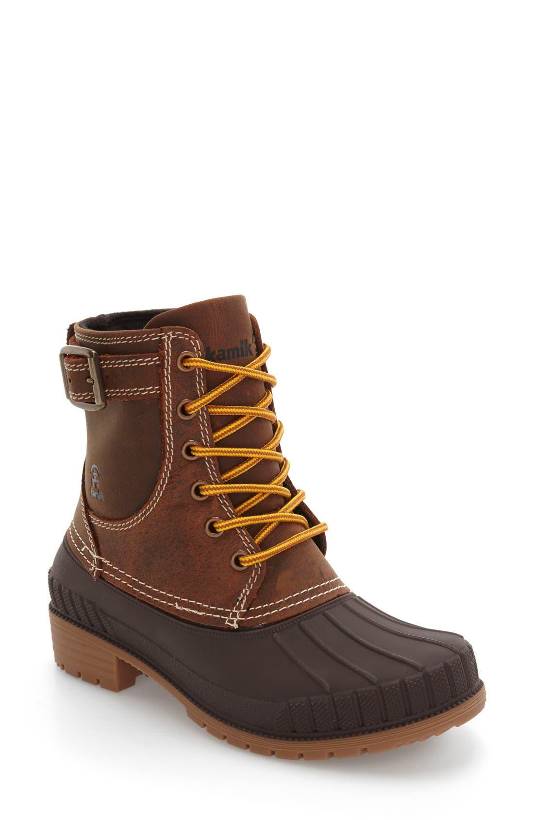 Alternate Image 1 Selected - Kamik Evelyn Waterproof Boot (Women)