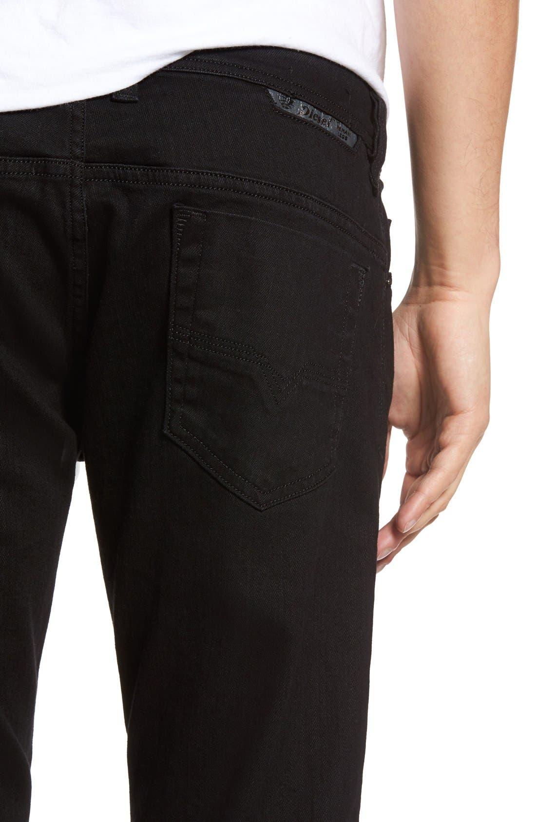 Alternate Image 4  - DIESEL® Safado Slim Fit Jeans (Z886)