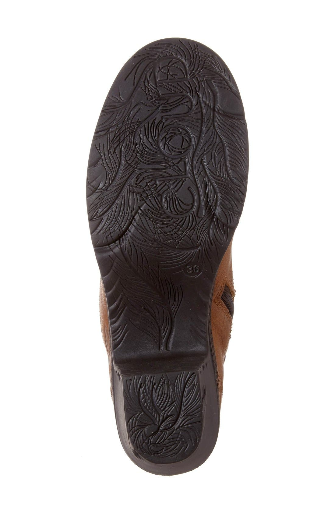 Fierce Boot,                             Alternate thumbnail 4, color,                             Brown Leather