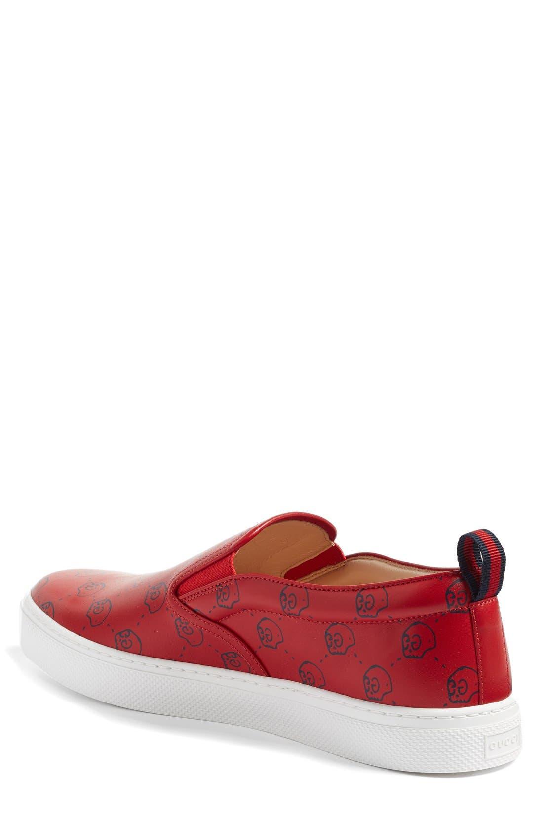 Alternate Image 2  - Gucci Dublin Slip-On Sneaker (Men)