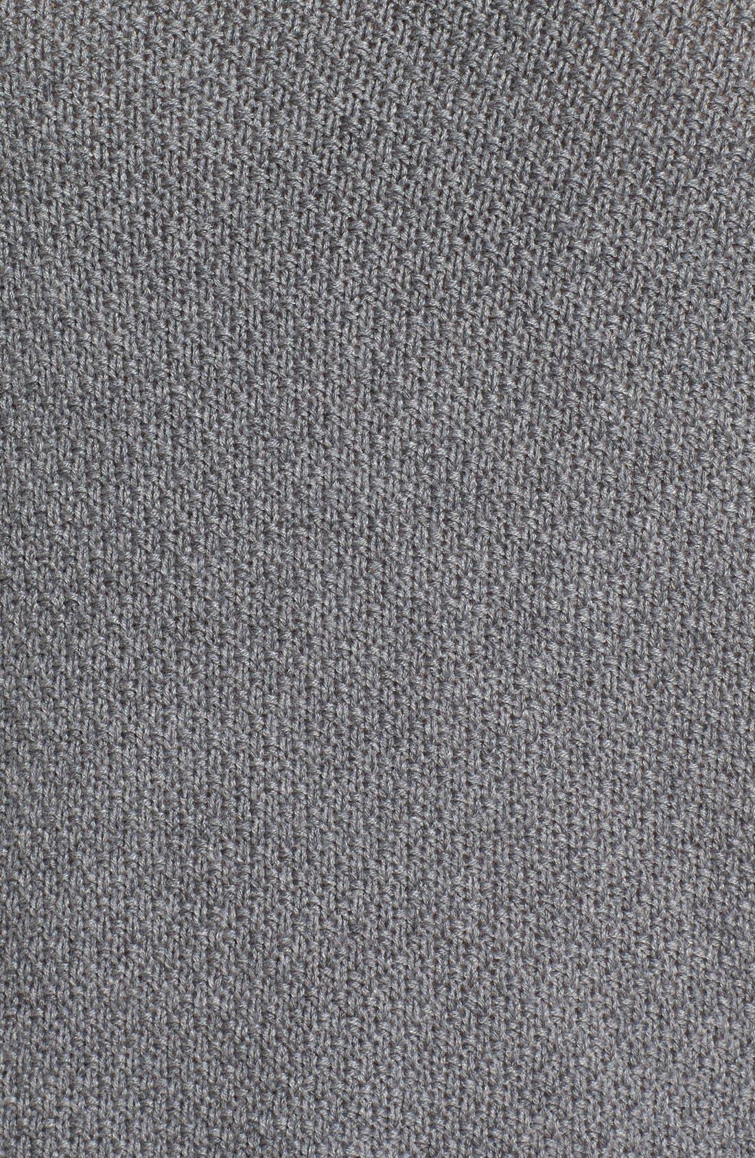 Alternate Image 5  - Caslon® Texture Knit Tunic (Regular & Petite)