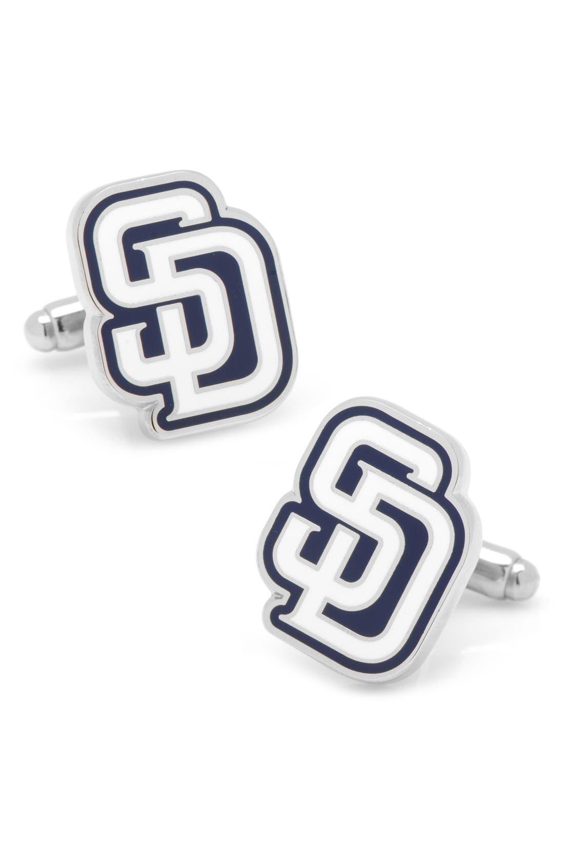 Main Image - Cufflinks, Inc. San Diego Padres Cuff Links