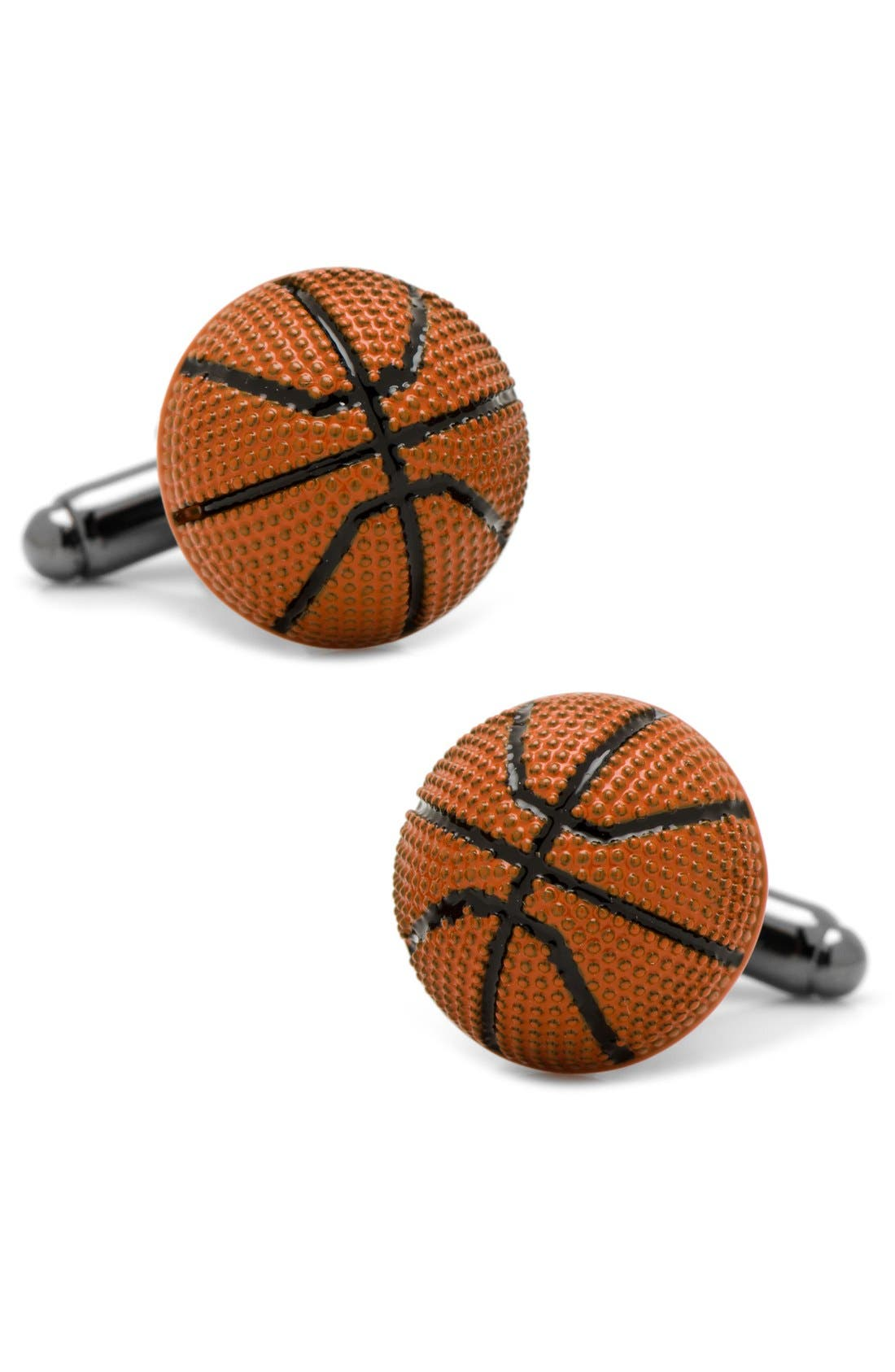 Cufflinks, Inc. Basketball Cuff Links