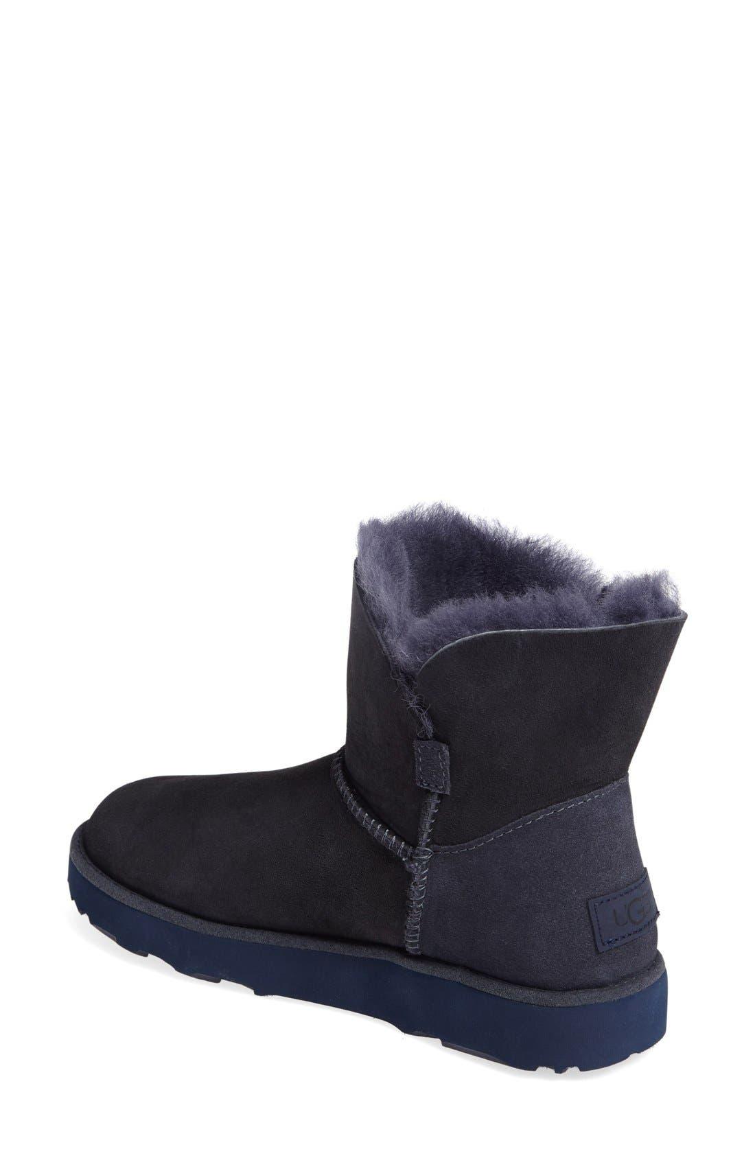 Alternate Image 2  - UGG® Classic Cuff Mini Boot (Women)