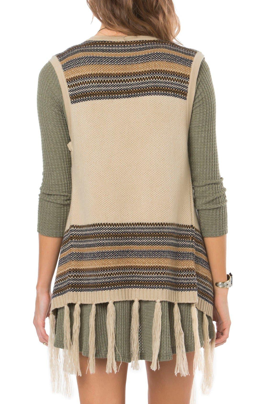 Alternate Image 2  - O'Neill Pfeiffer Stripe Knit Vest