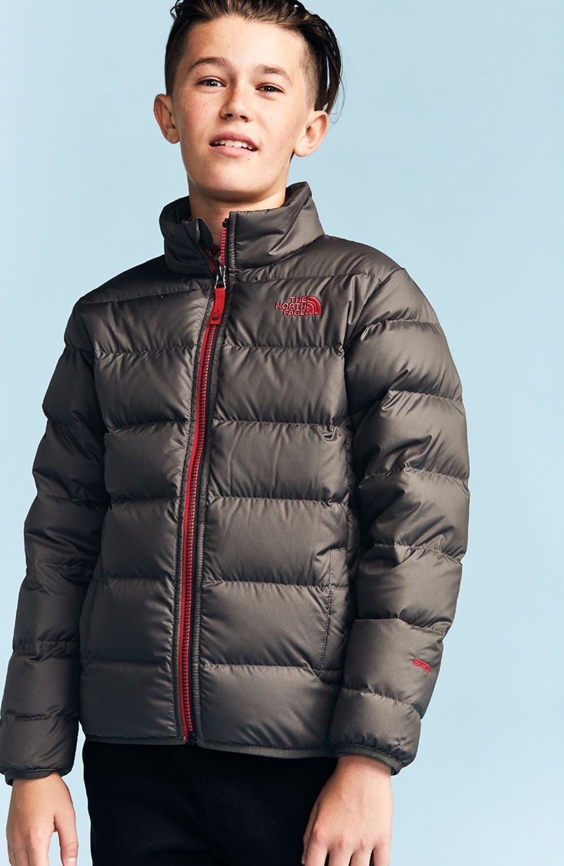 Alternate Image 3  - The North Face 'Andes' Water Resistant 550-Fill Compressible Down Jacket (Big Boys)