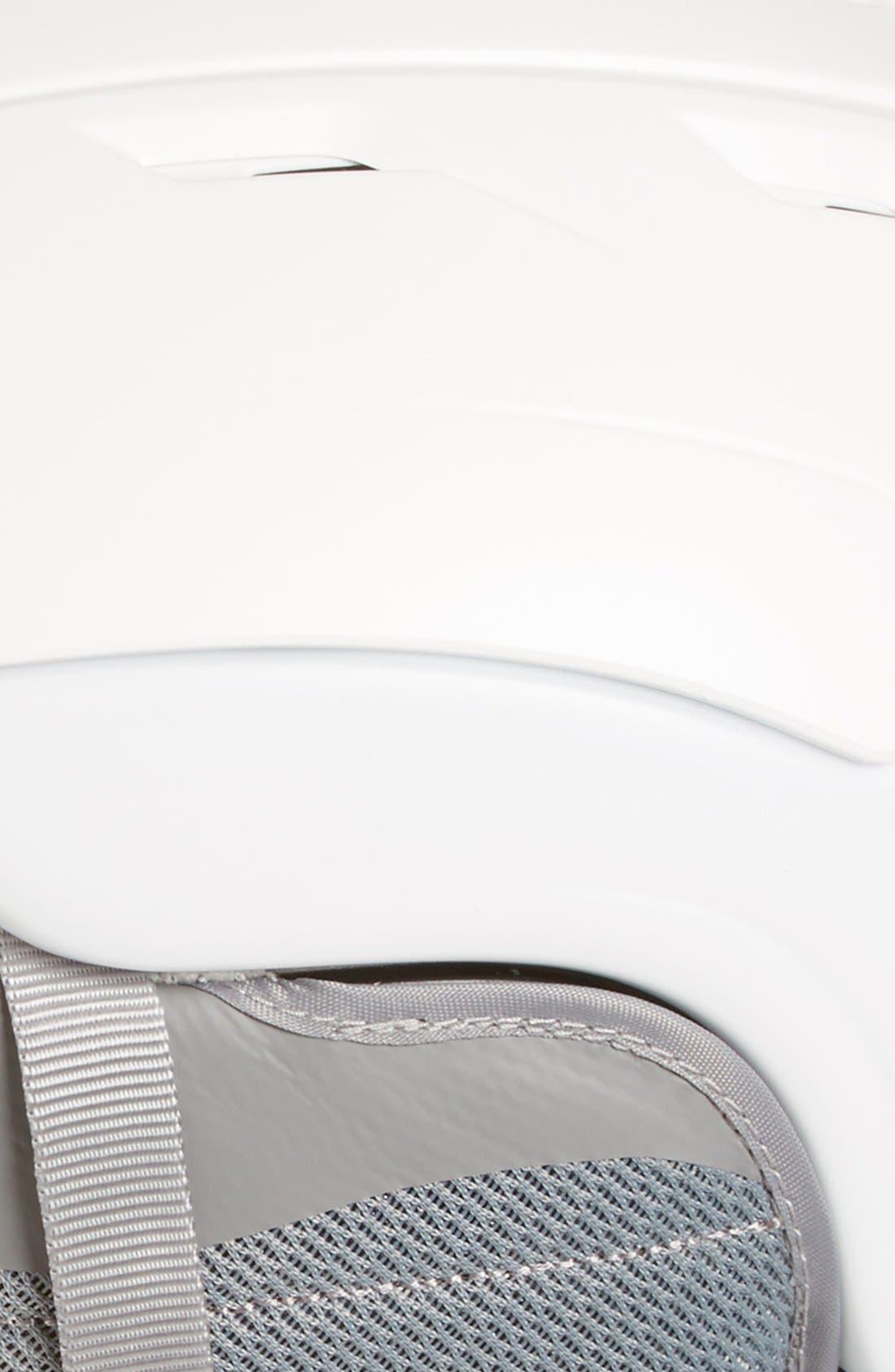 Valence Snow Helmet,                             Alternate thumbnail 2, color,                             Satin White