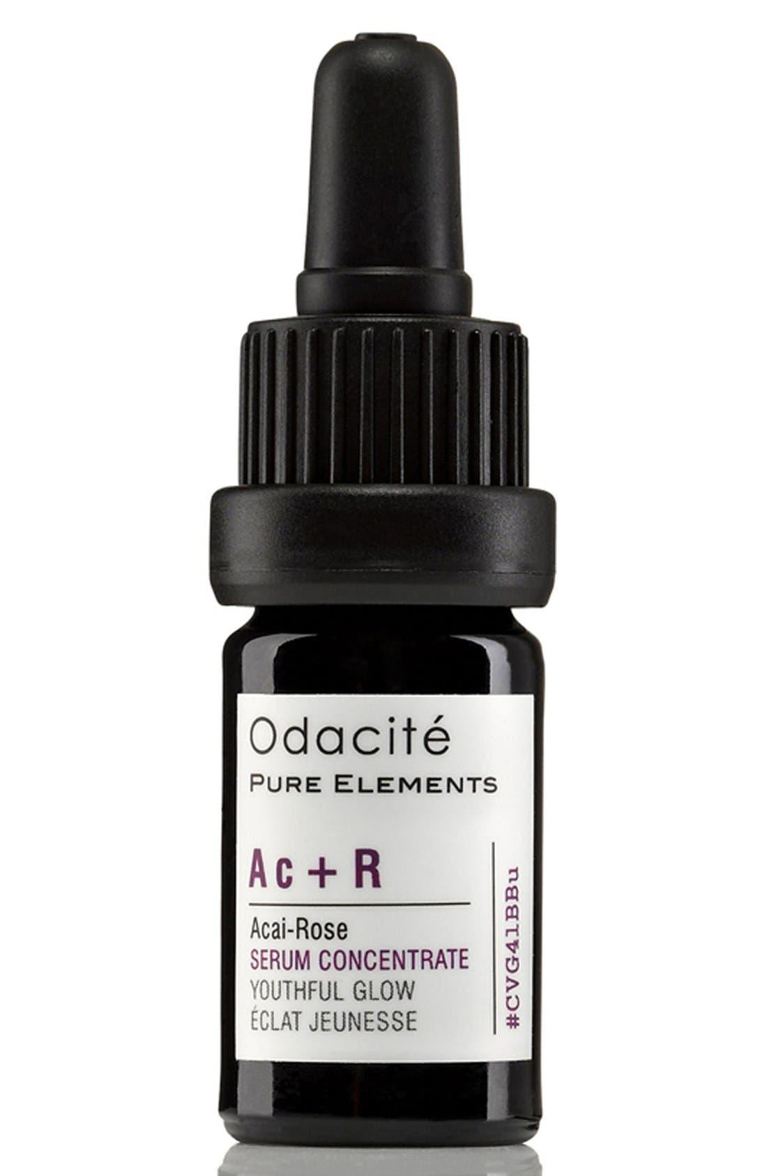 Odacité Ac + R Açai-Rose Youthful Glow Facial Serum Concentrate