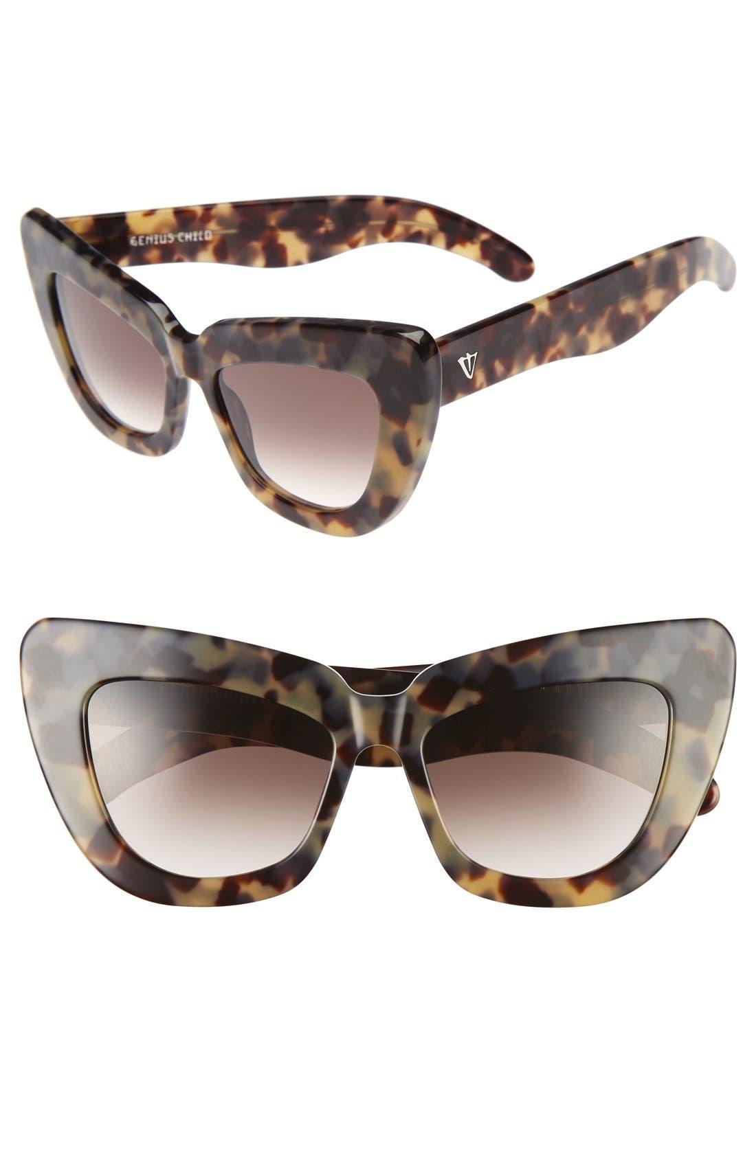 VALLEY 50mm Genius Child Cat Eye Sunglasses