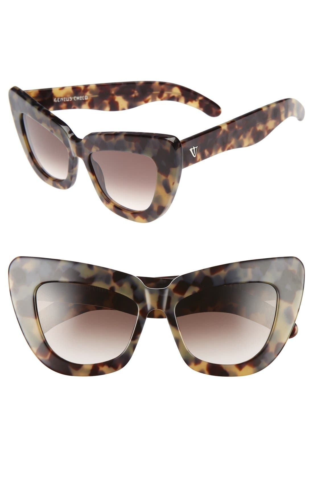 VALLEY 50mm Genius Child Cat Eye Sunglasses