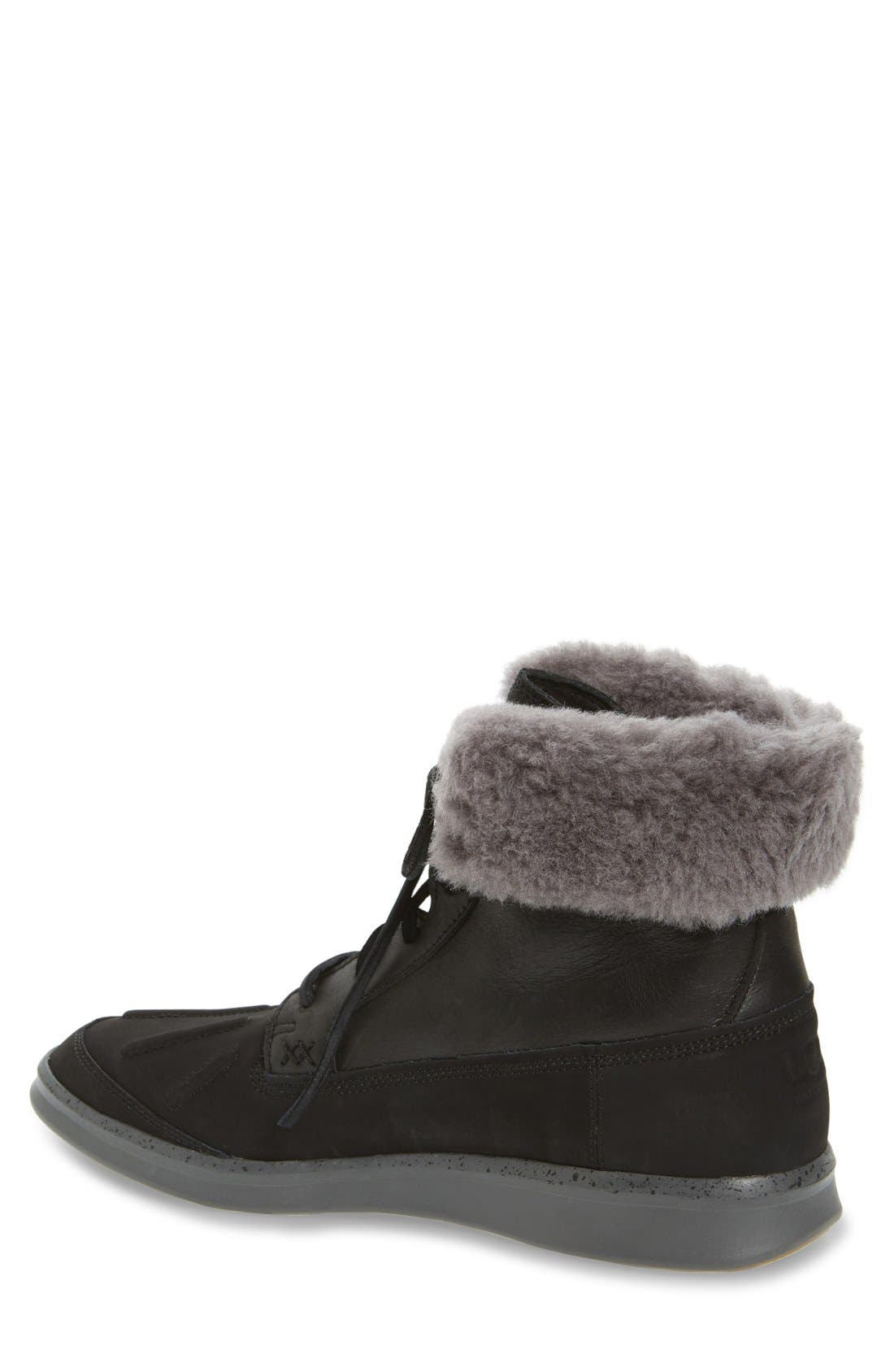 Roskoe Snow Boot,                             Alternate thumbnail 2, color,                             Black