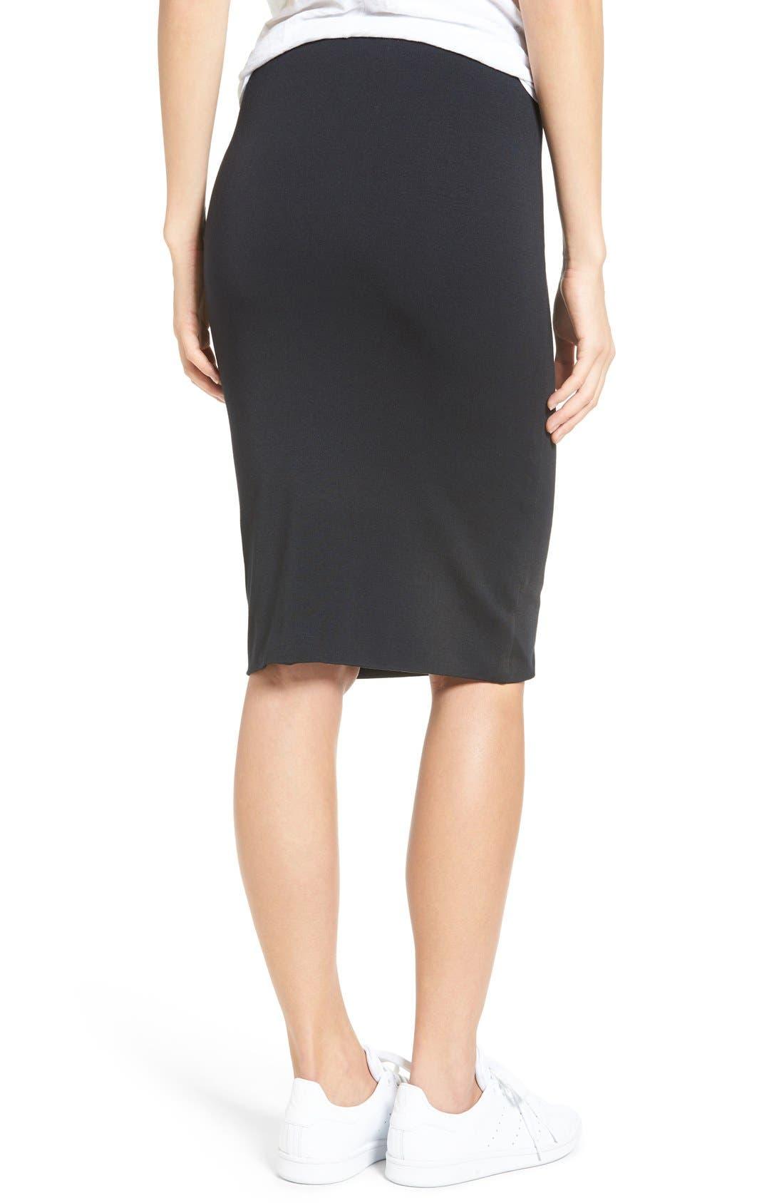Alternate Image 2  - Amour Vert 'Yuma' Stretch Knit Skirt