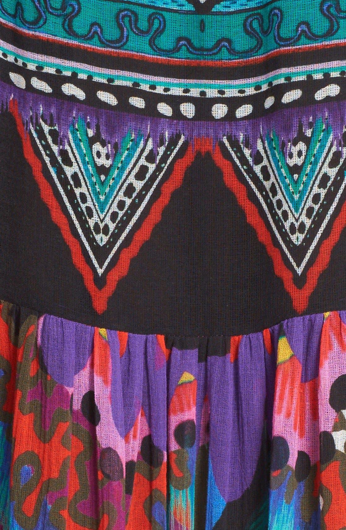 Alternate Image 3  - Roberto Cavalli Print Silk Maxi Dress