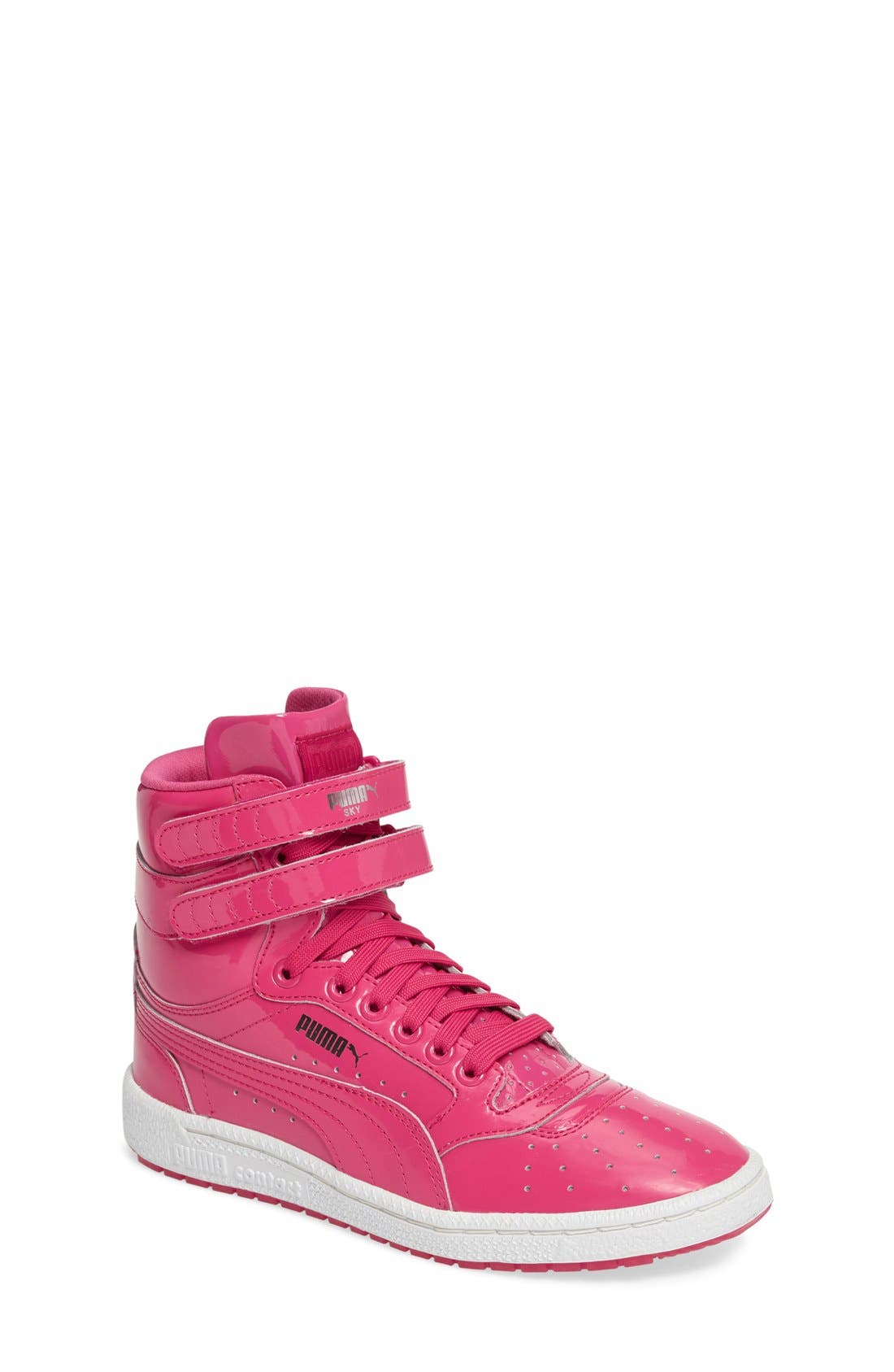 PUMA Sky II Hi Patent High Top Sneaker