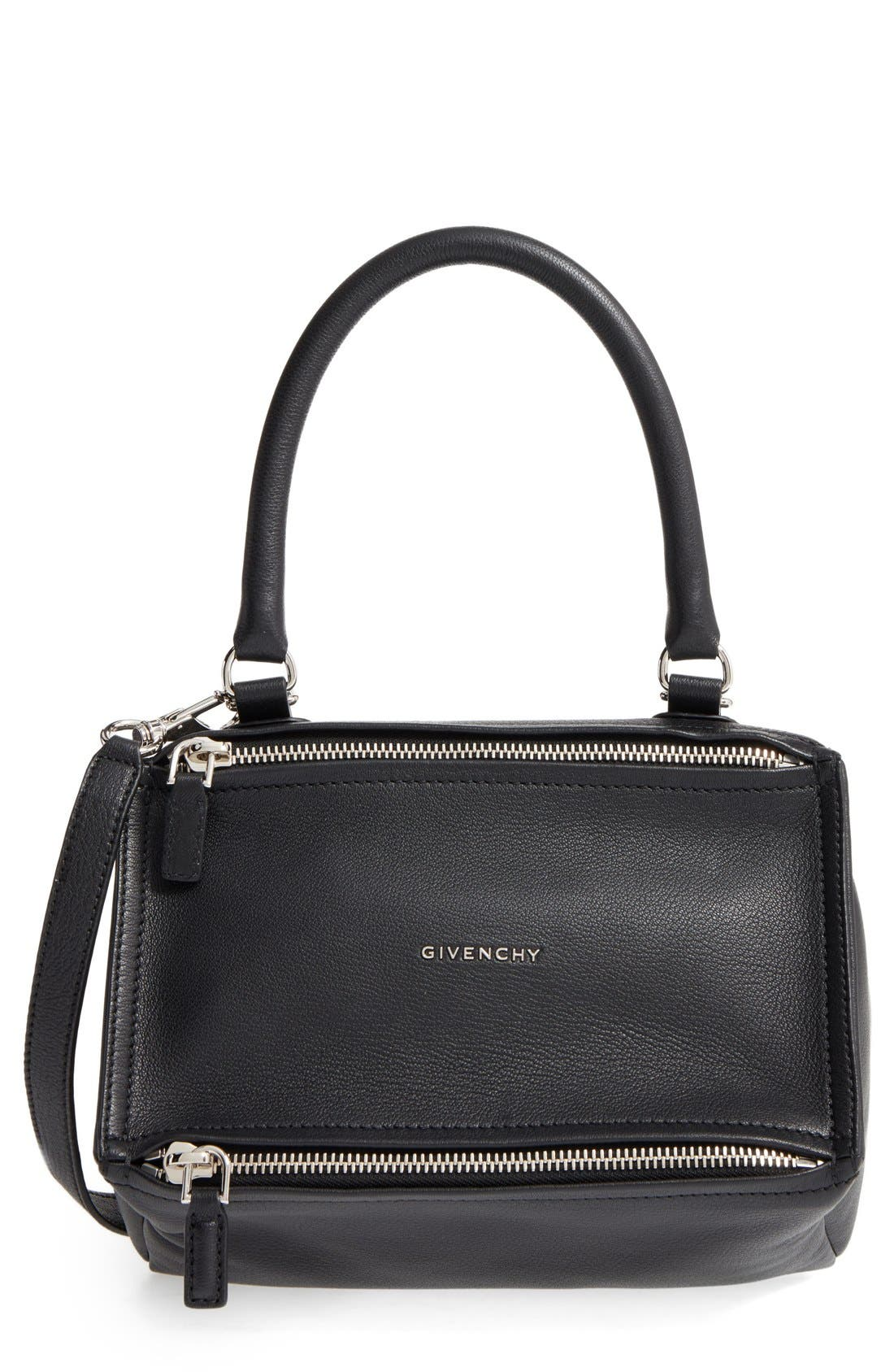 GIVENCHY Small Pandora Leather Satchel