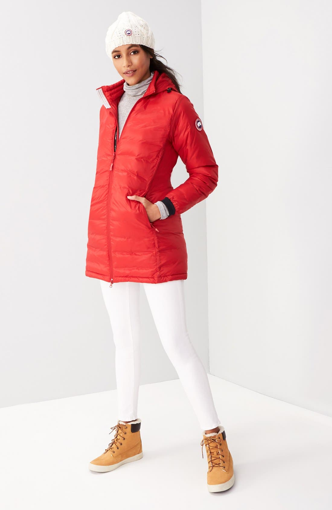 Alternate Image 2  - Canada Goose 'Camp' Slim Fit Hooded Packable Down Jacket