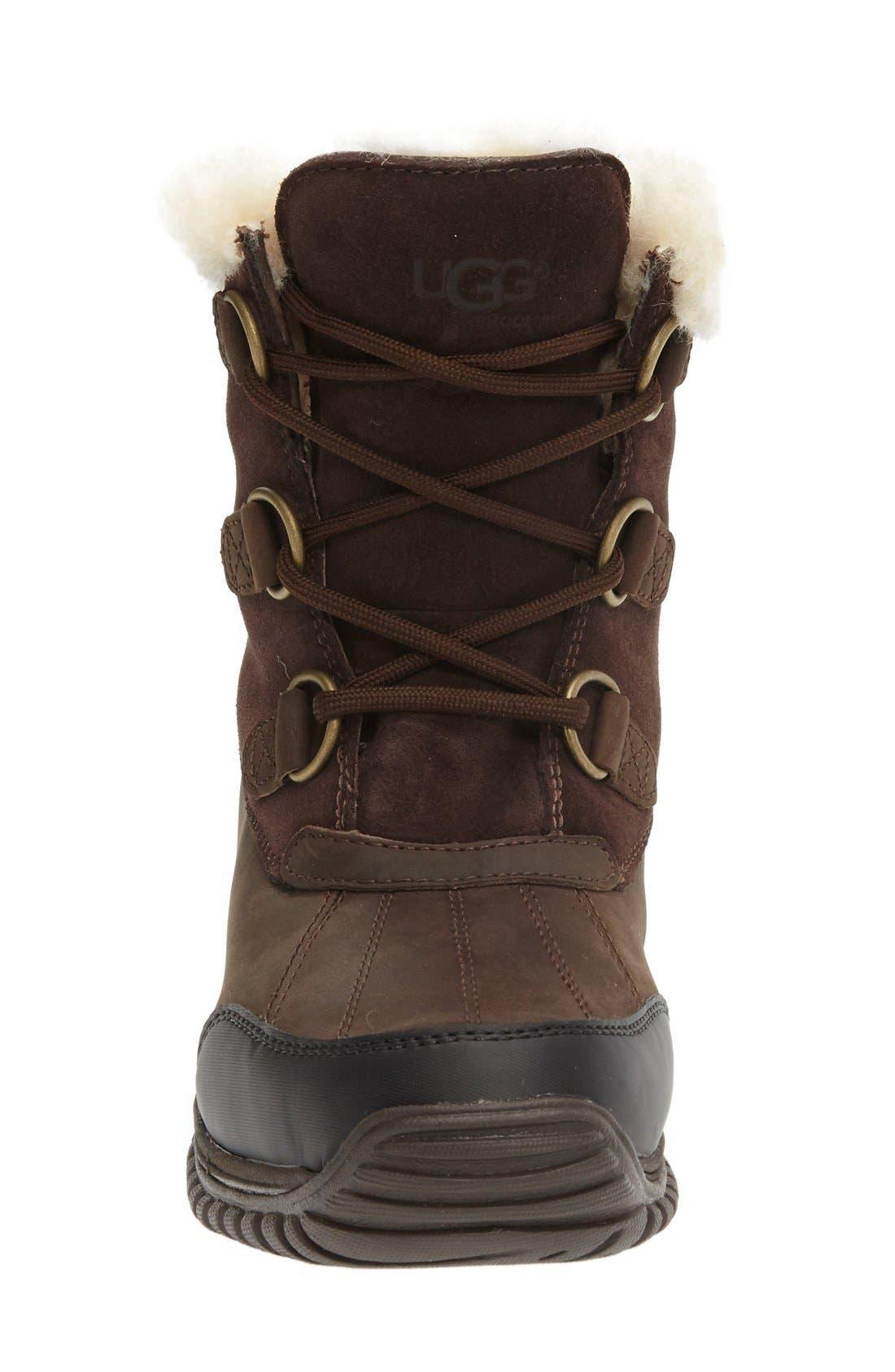 Alternate Image 3  - UGG® Ostrander Waterproof Winter Boot (Women)