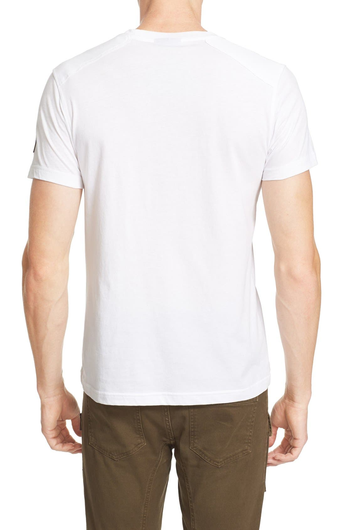 New Thom Heritage Jersey T-Shirt,                             Alternate thumbnail 3, color,                             White
