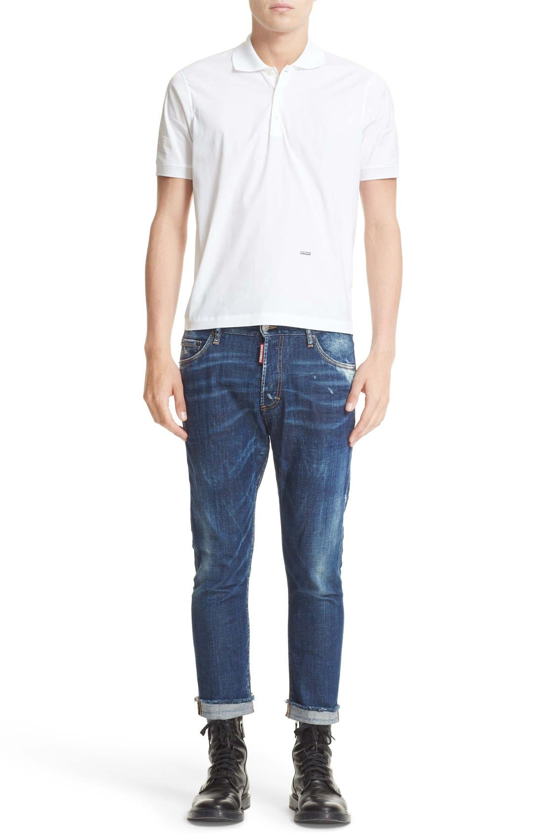 Alternate Image 6  - Dsquared2 Extra Trim Fit Polo