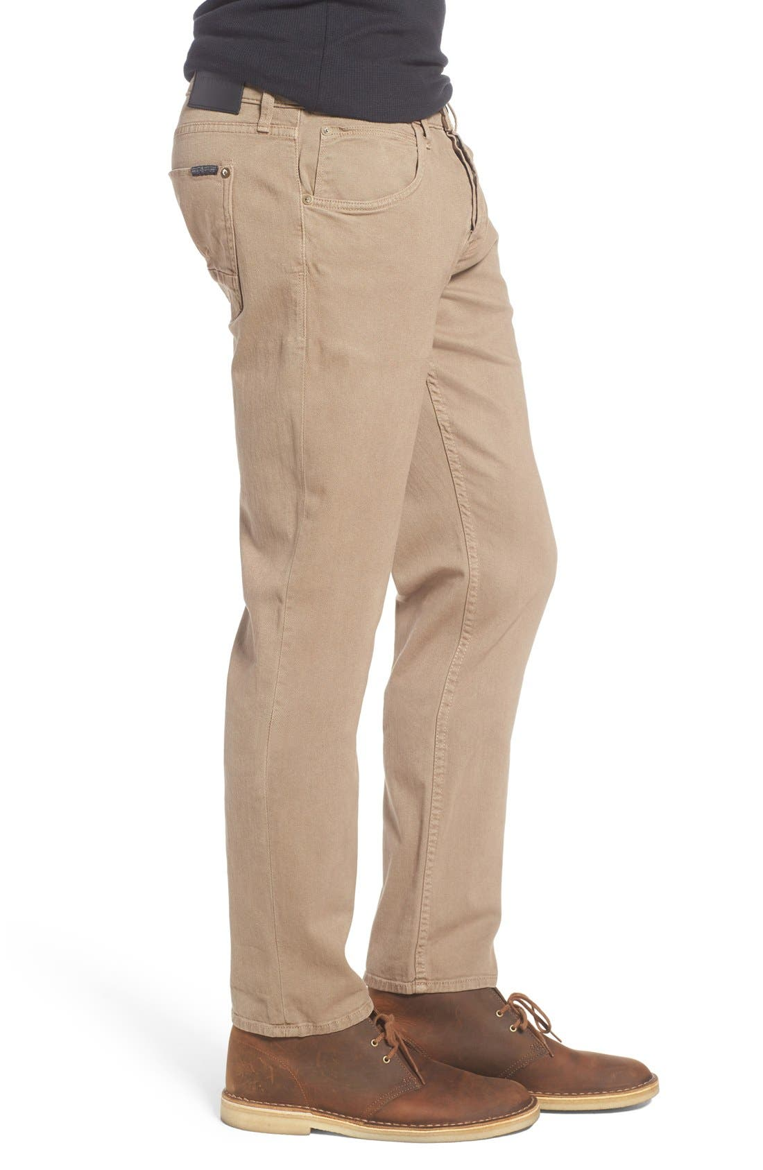 Alternate Image 3  - Hudson Jeans Blake Slim Fit Jeans (Quicksand Khaki)