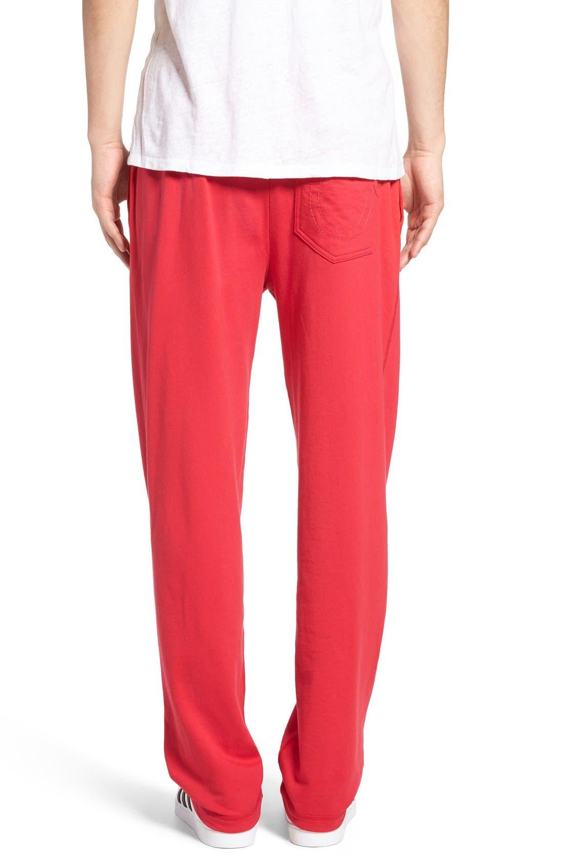 Alternate Image 2  - True Religion Brand Jeans Open Leg Sweatpants
