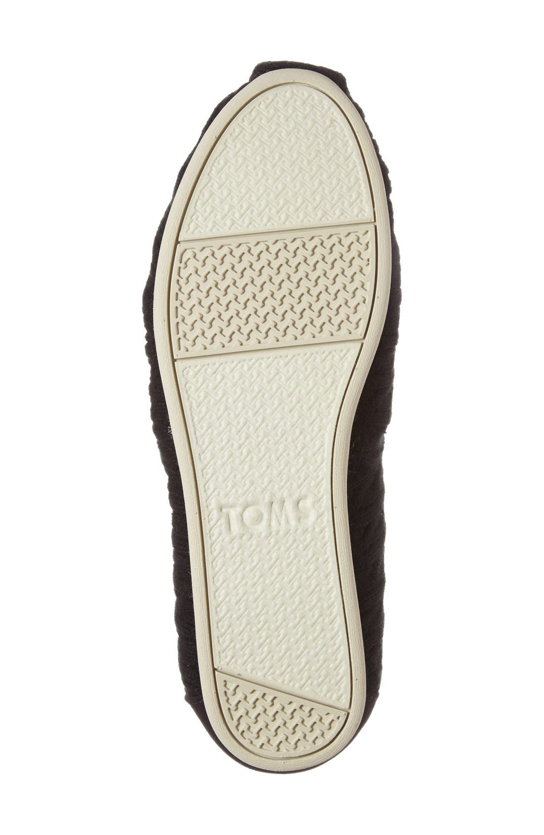 Alternate Image 4  - TOMS 'Classic Knit' Slip-On (Women)