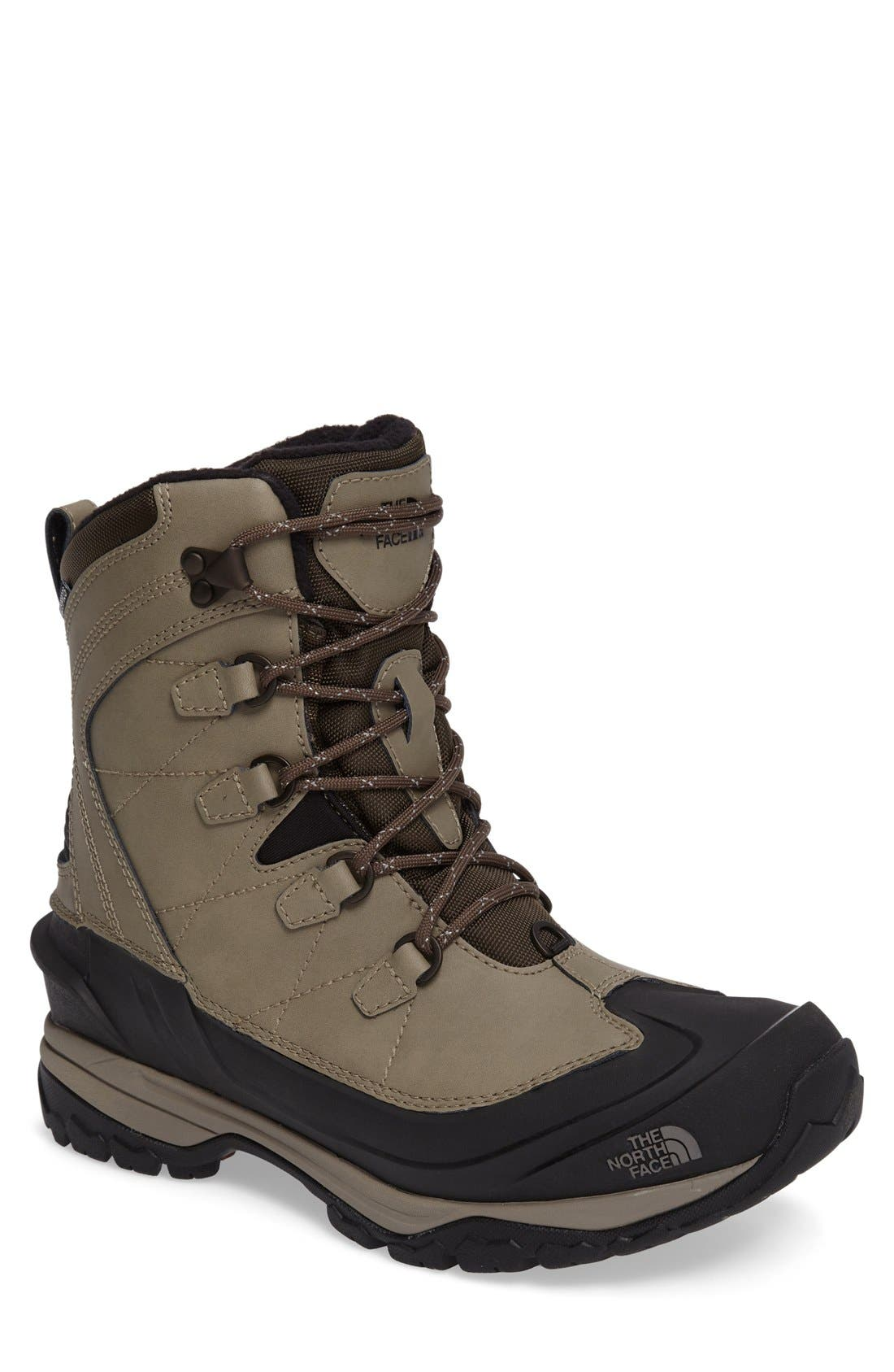 Main Image - The North Face Chilkat Evo Waterproof Insulated Snow Boot (Men)