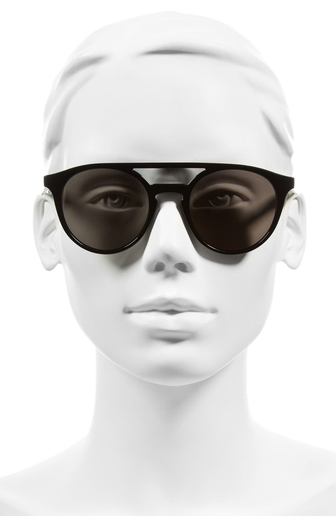 Alternate Image 2  - Carrera Eyewear 49mm Round Sunglasses
