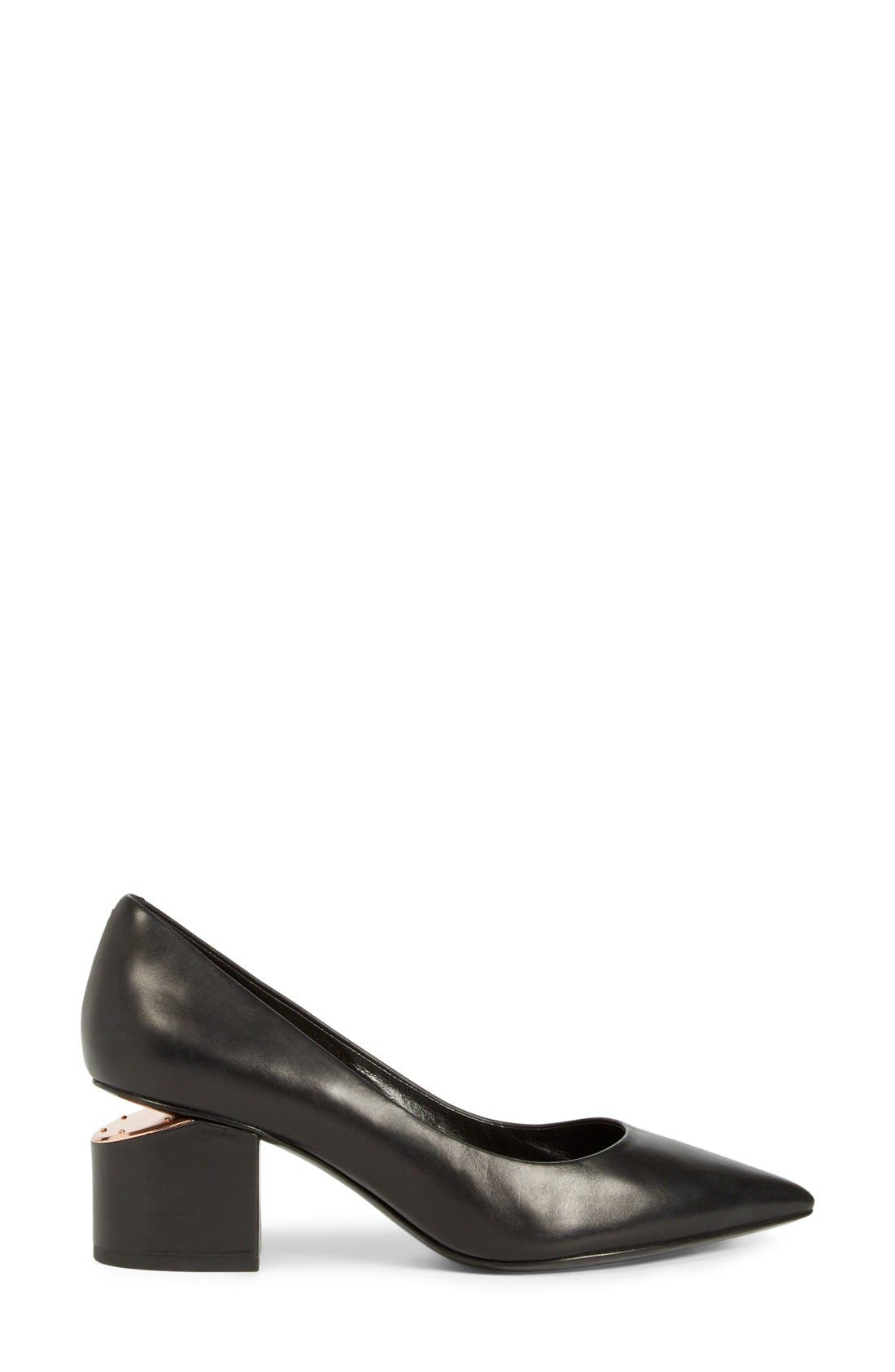 Alternate Image 4  - Alexander Wang 'Simona' Block Heel Pump (Women)