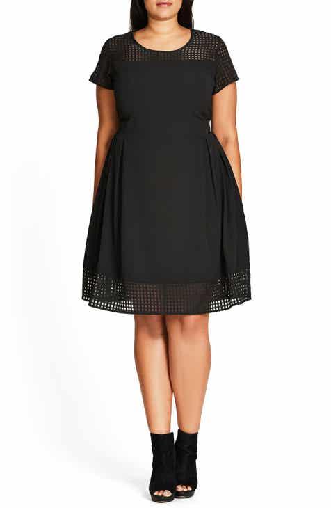 Womens City Chic Teens Little Black Dresses Nordstrom
