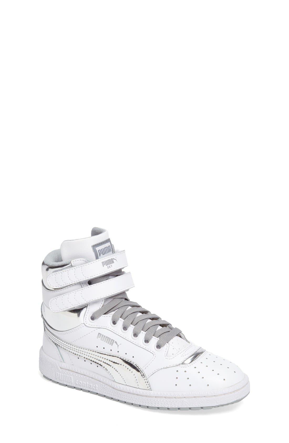 PUMA Sky II Hi Foil Jr Sneaker