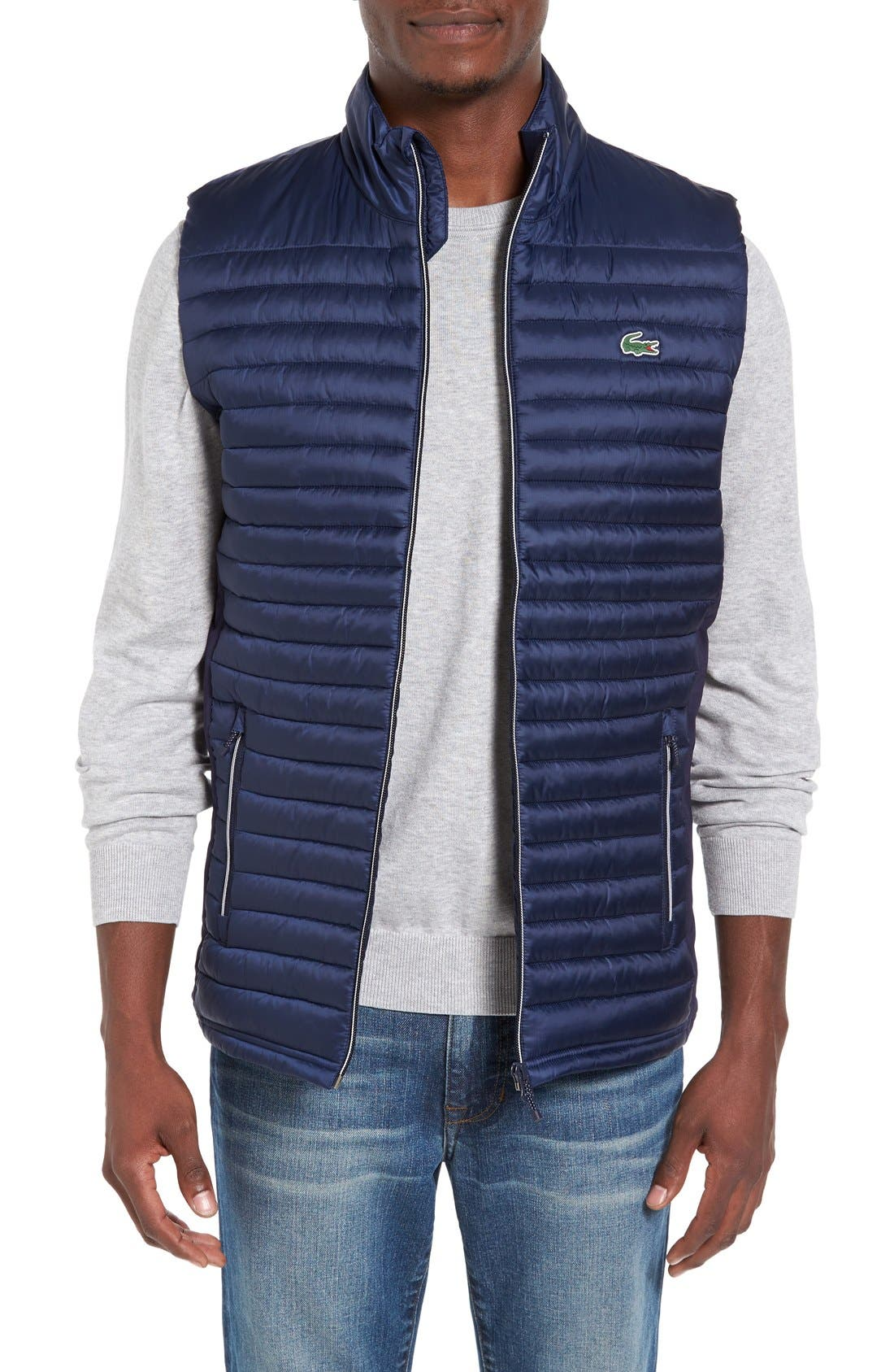 'Sport' Insulated Vest,                         Main,                         color, Navy Blue/ Navy Blue