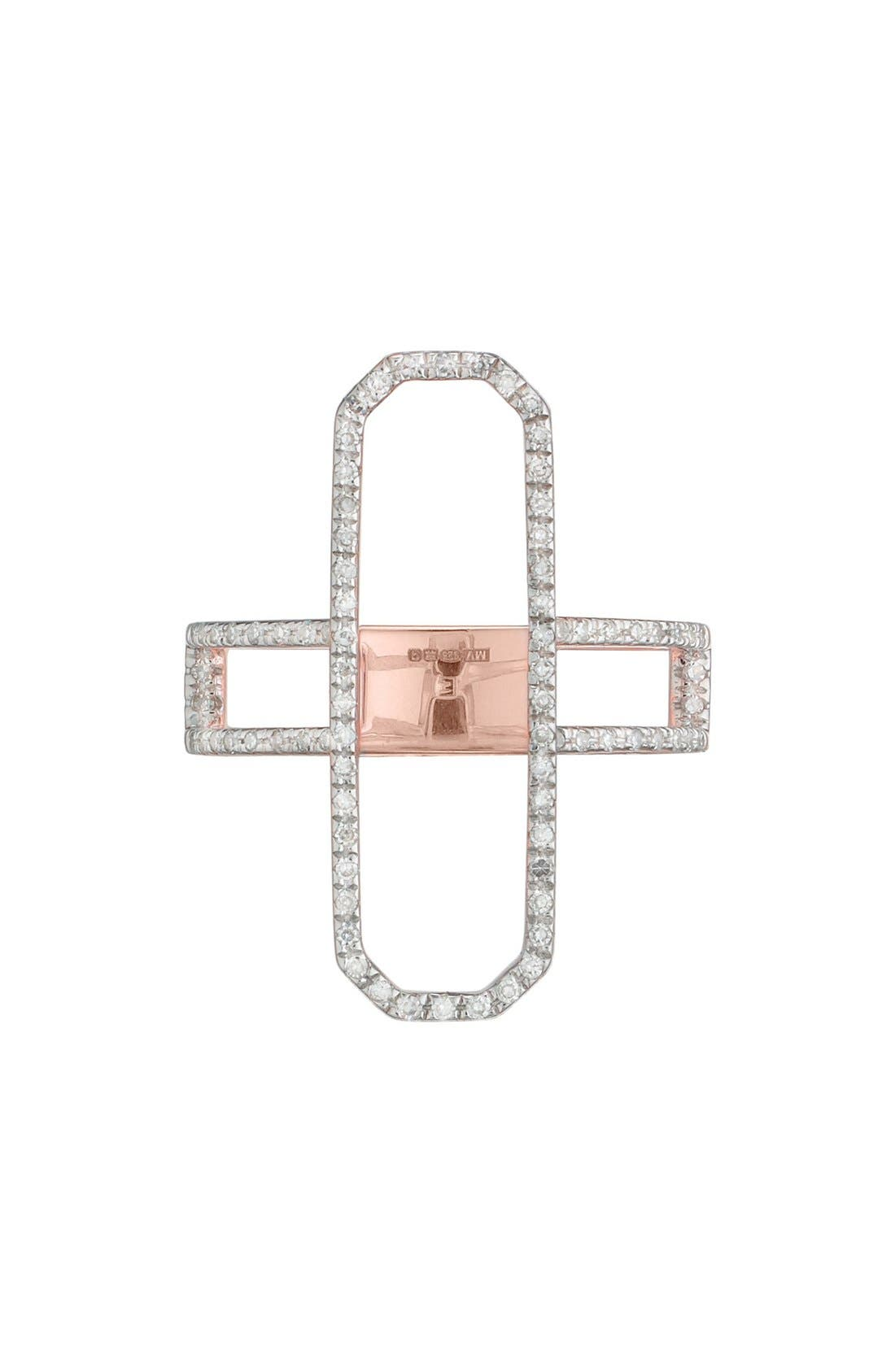 MONICA VINADER Naida Diamond Cocktail Ring