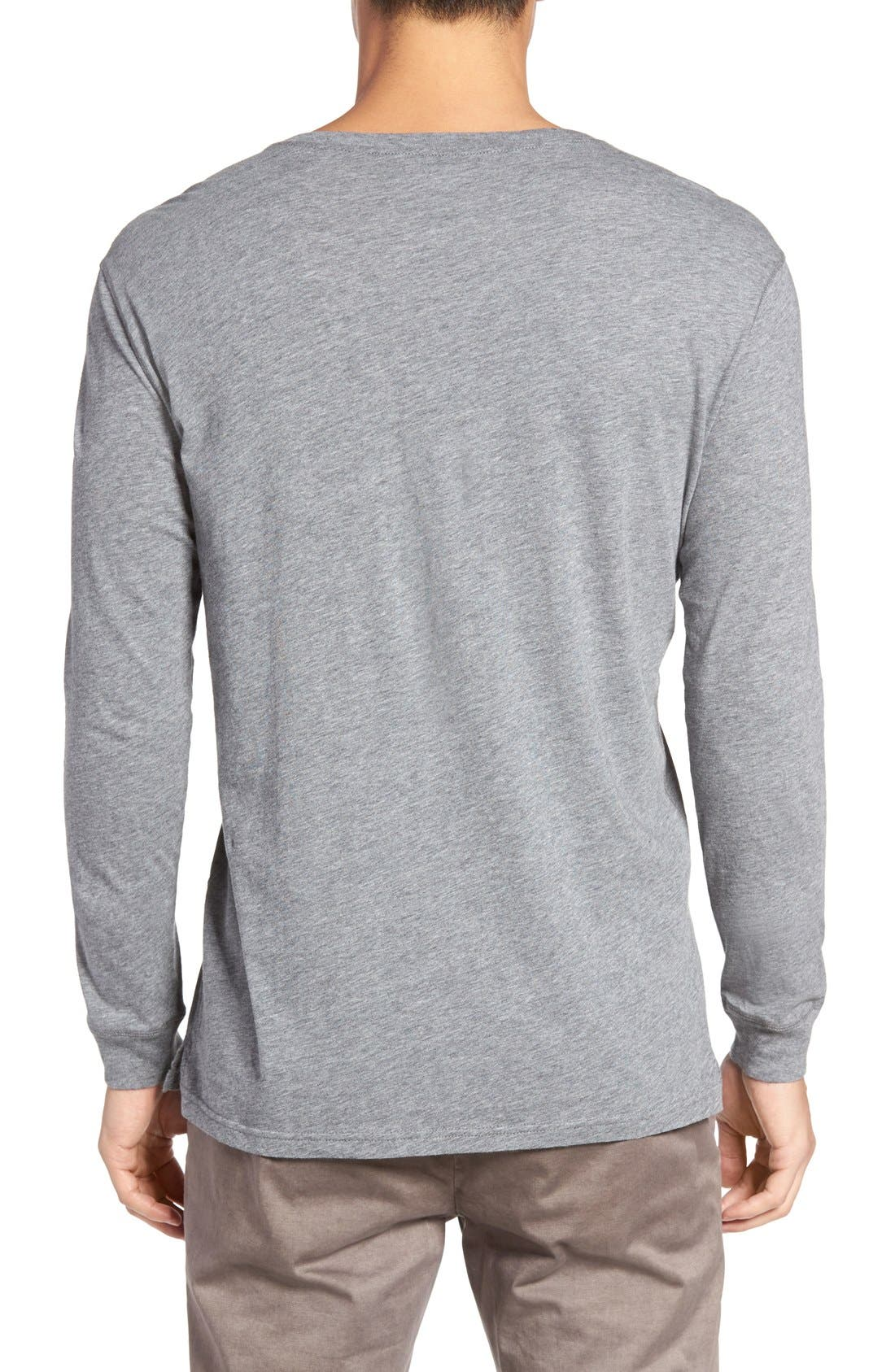 Alternate Image 2  - Slate & Stone Button Henley