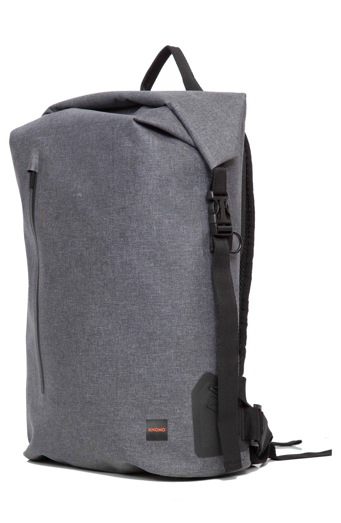 Thames Cromwell Roll Top Backpack,                             Alternate thumbnail 3, color,                             Grey