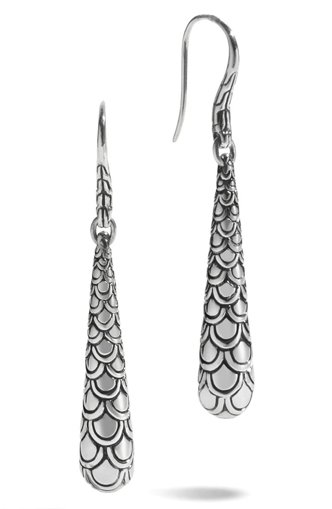 JOHN HARDY Naga Scale Drop Earrings