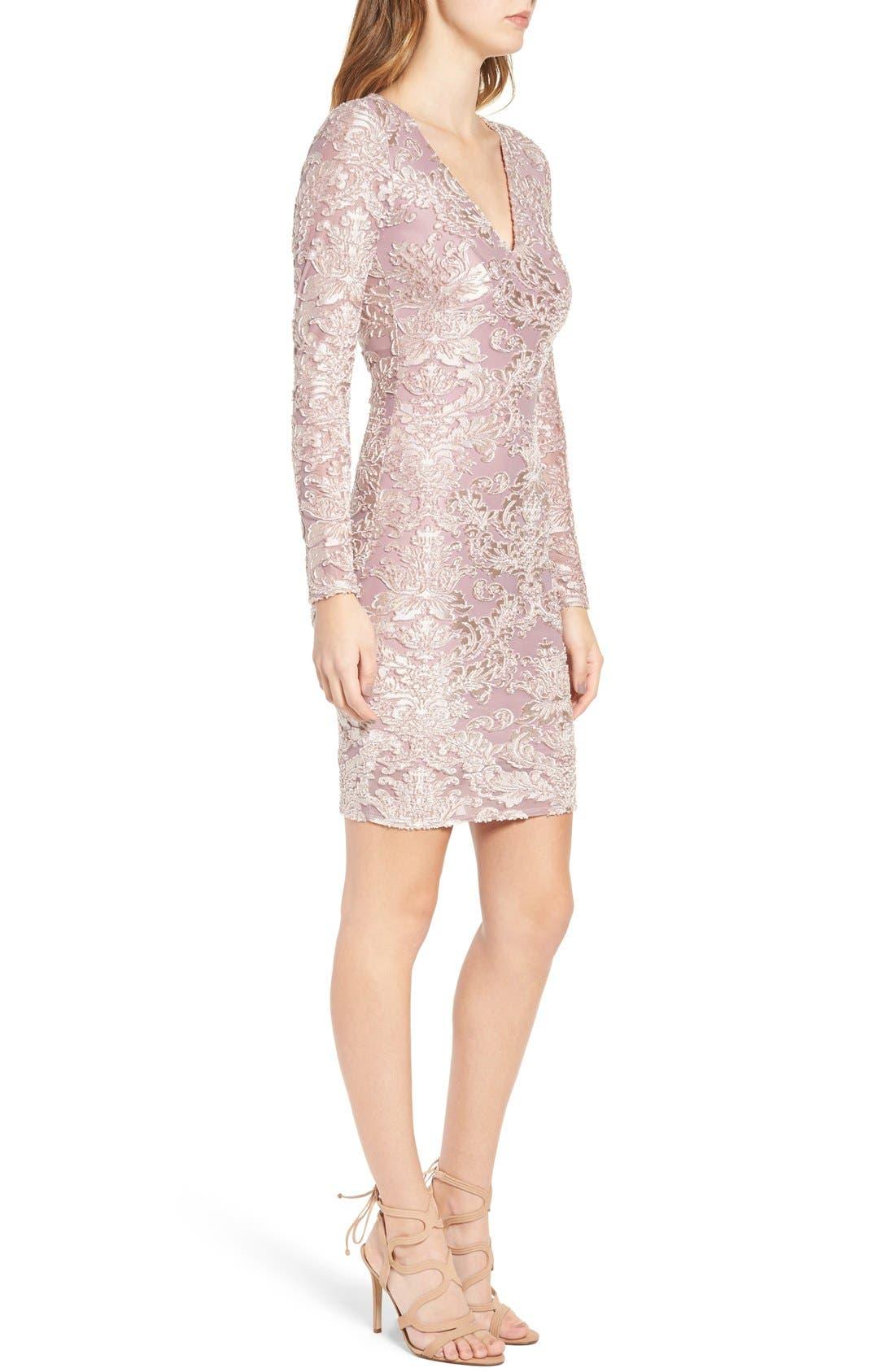 Alternate Image 3  - Leith Floral Velvet Dress