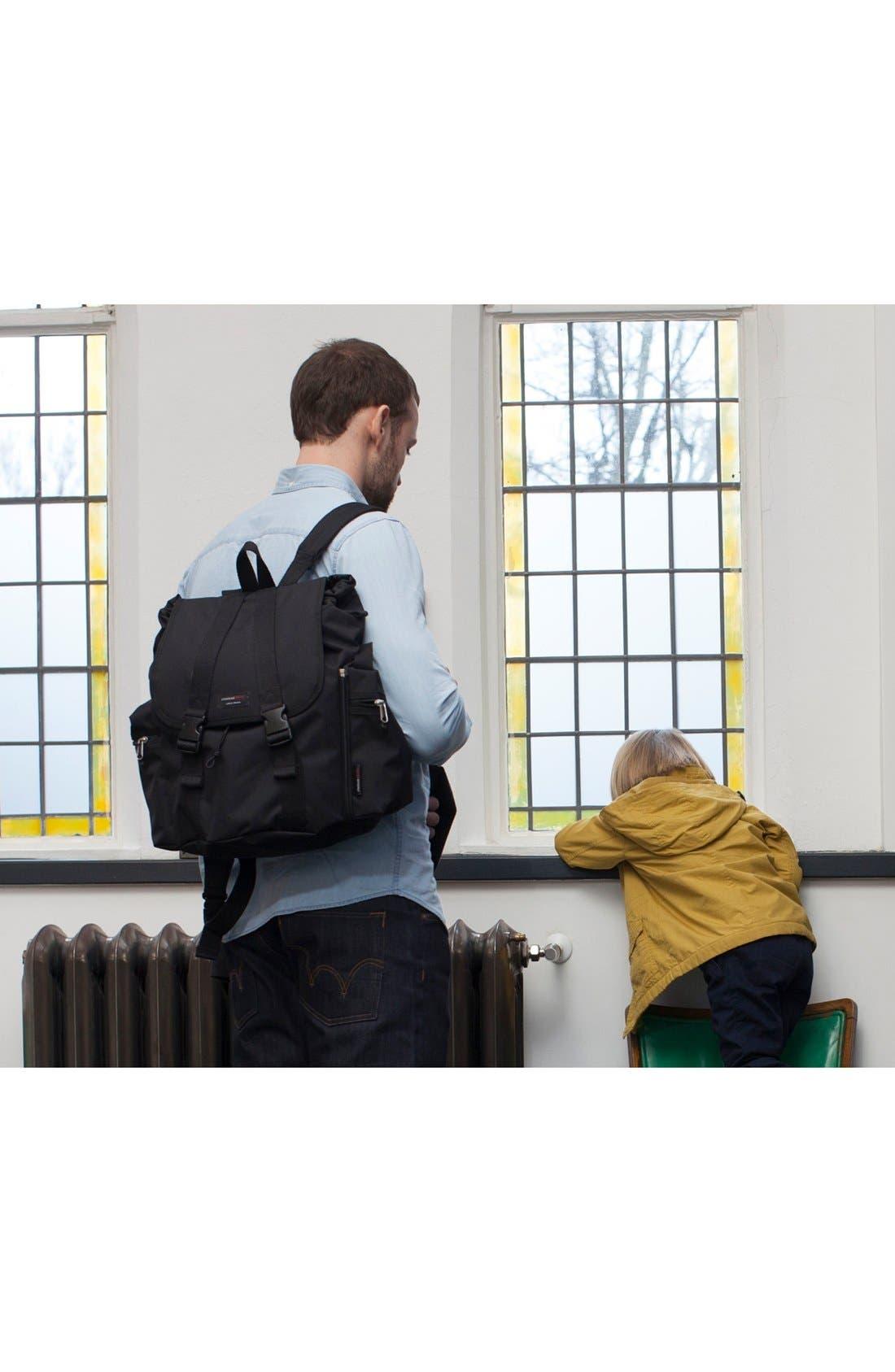 Alternate Image 7  - Storksak Travel Backpack Diaper Bag