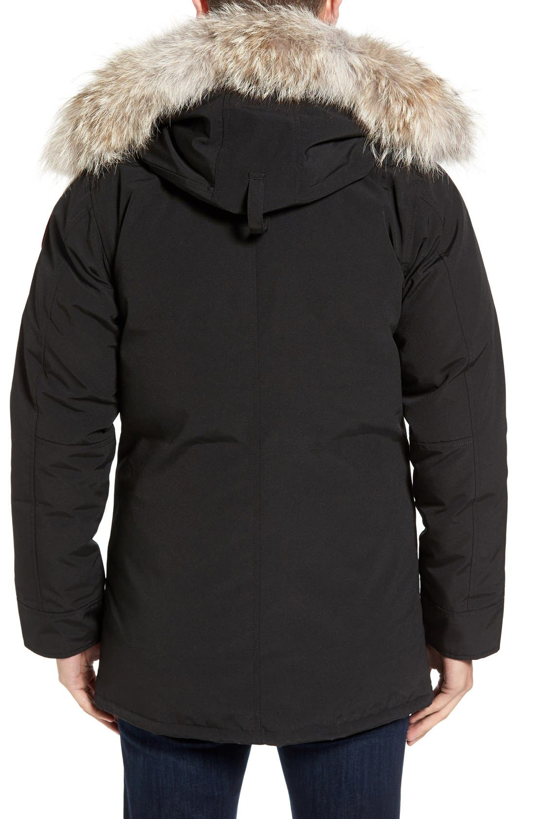 Alternate Image 2  - Canada Goose 'Chateau' Slim Fit Genuine Coyote Fur Trim Jacket