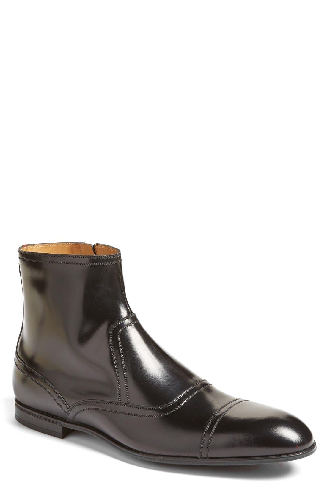 Gucci Ravello Zip Boot (Men)